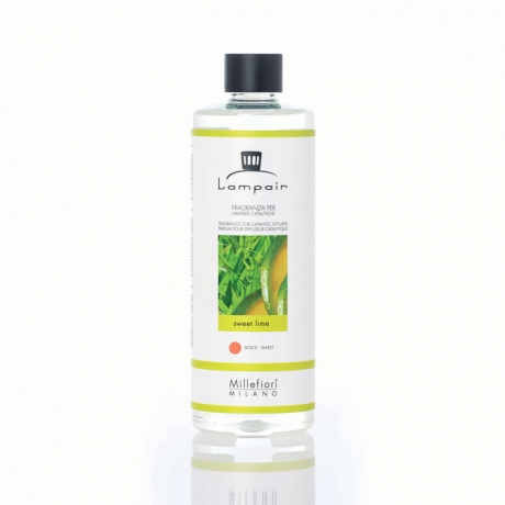 SWEET LIME - Millefiori 500 ml Lampair Nachfüllflasche SELECTED